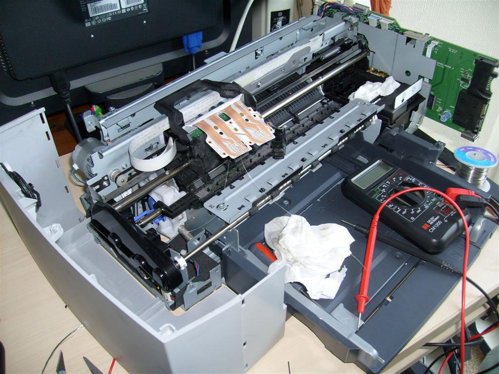 Ремонт принтеров своими руками hp
